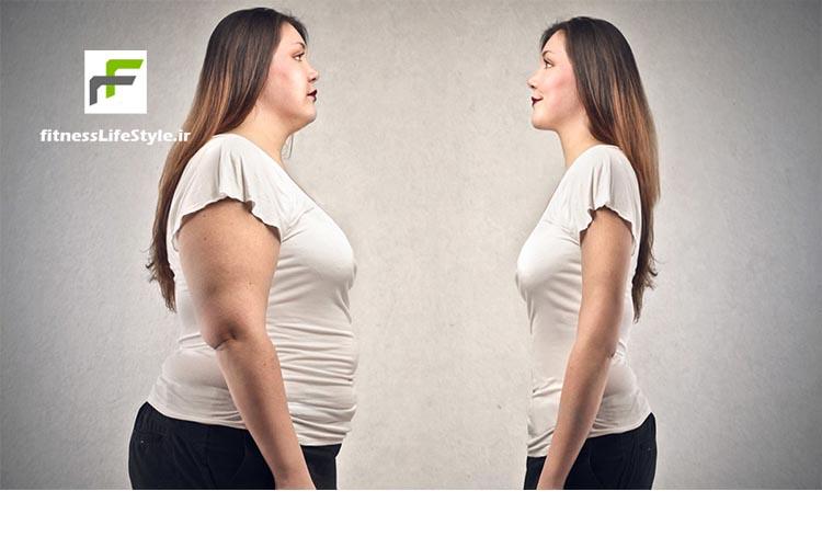 کاهش وزن در 2 هفته