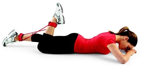 تمرین پا با کش